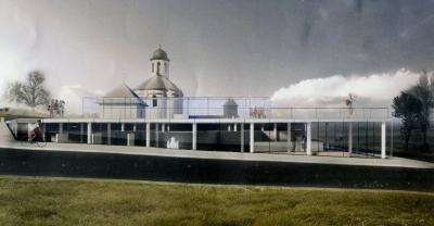 У Галичі презентували проекти музеєфікації фундаменту  Успенського собору та облаштування Крилоської гори