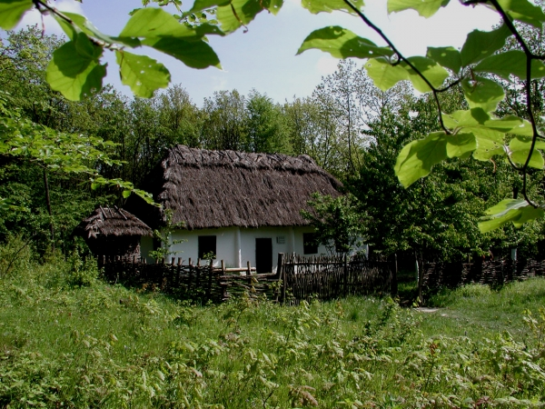 Museum of folk architecture and way of life on the precarpation region