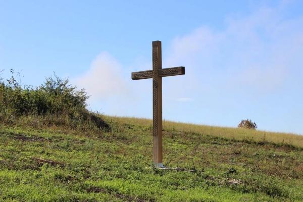 У селі Кінашів постала Хресна Дорога